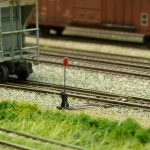 N-Scale switch stand