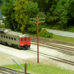 N Scale telephone pole utility pole