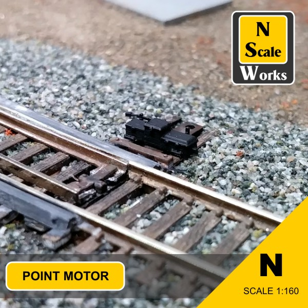 Point motor N Scale